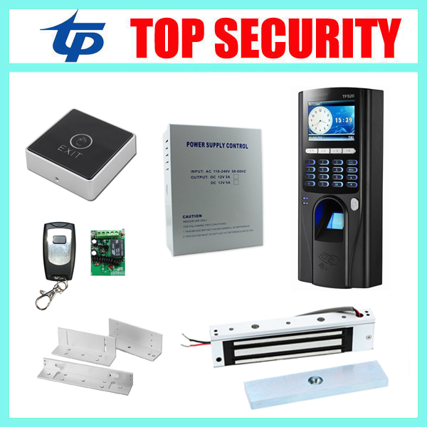 TFS20 fingerprint and RFID card door access control reader standalone biometric fingerprint door access controller kit with TCP tcp ip biometric face recognition door access control system with fingerprint reader and back up battery door access controller