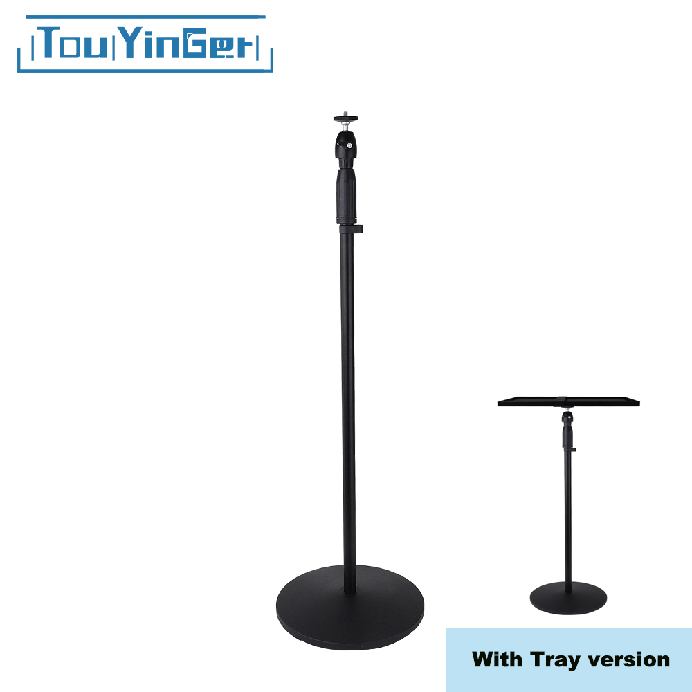 Everycom Projector Floor Stand Portable Tripod Adjustable Height For XGIMI Z4 XGIMI H1 XGIMI H2 Touyinger X7 Aurora Z4 Air Camer xgimi projector accessories portable lightweight aluminum bracket for xgimi z4 aurora cc aurora xgimi h2 camera tripod