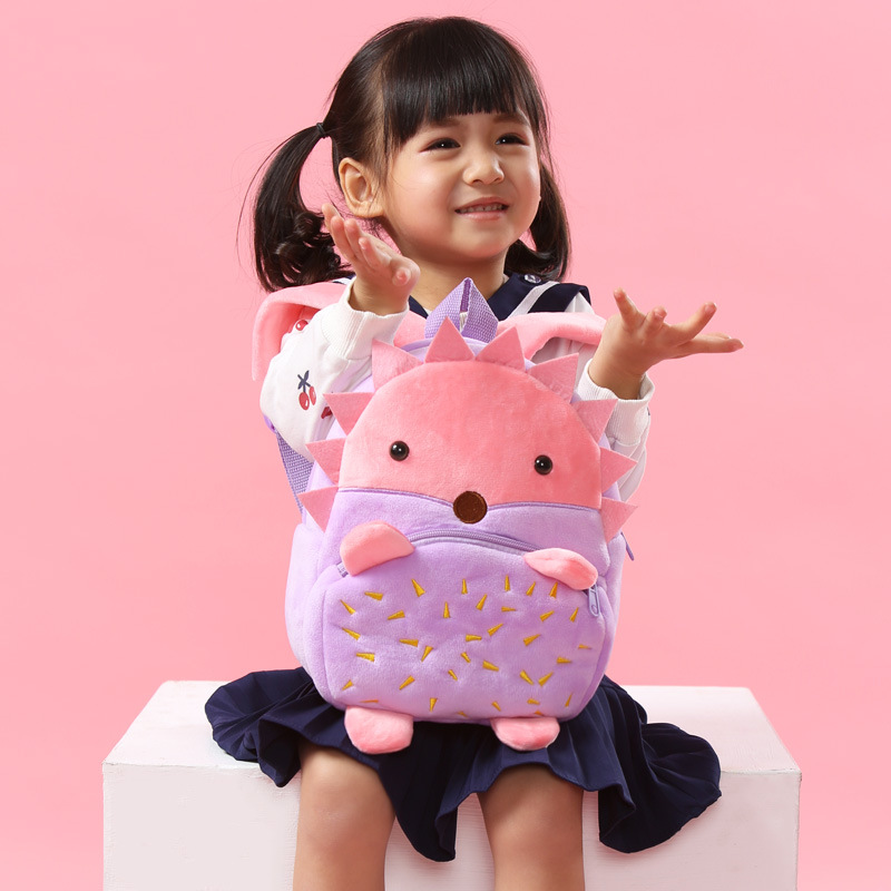 Children 3D School Backpack Winmax Baby Kids Cute Animal Design Toys Bookbag Toddler Girls Boys Kindergarten Cartoon School Bags