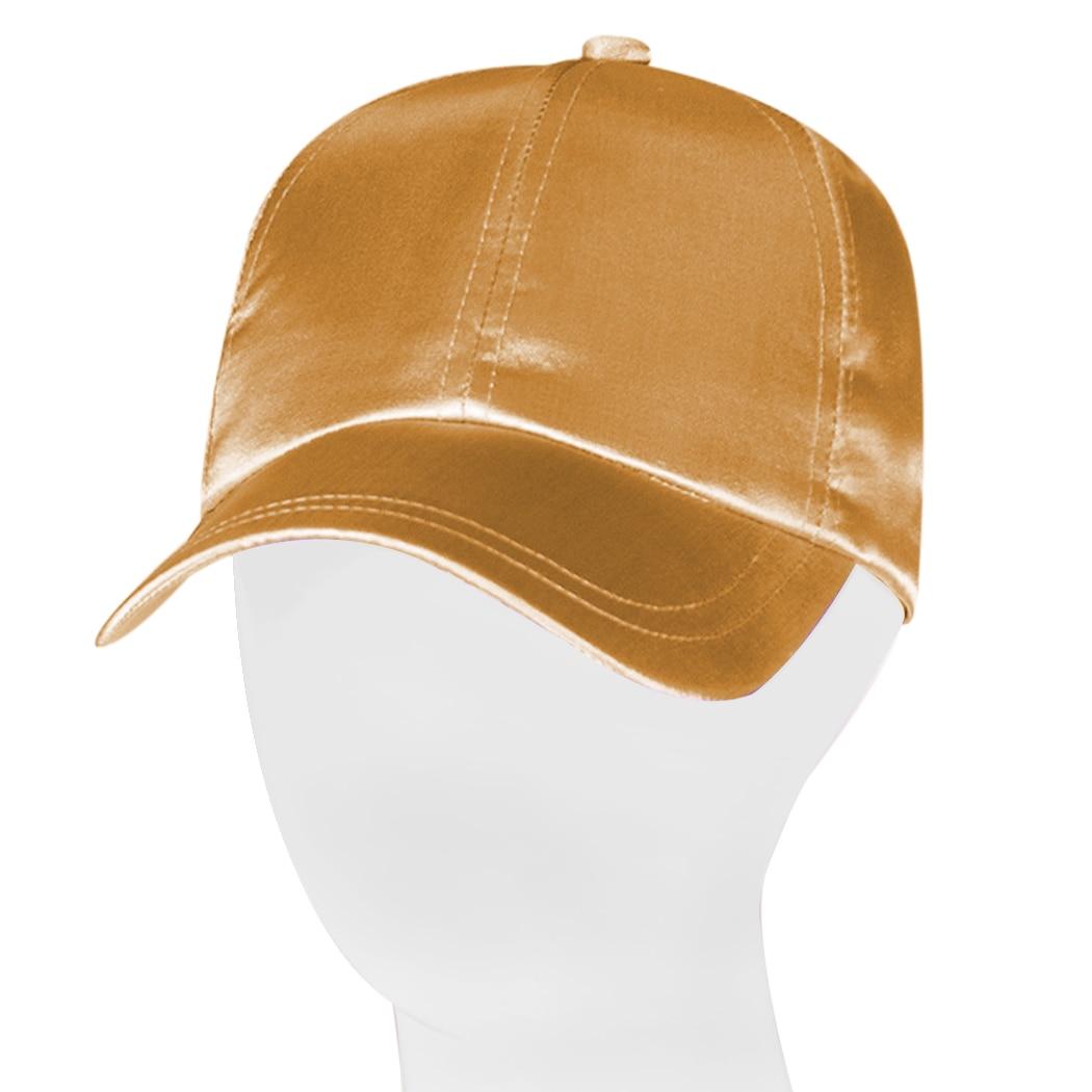 ded9f0e41632d Satin SnapBack hombres gorra de béisbol mujeres sombreros para los hombres  bone casquette Sol gorras panel invierno hiphop gorras de camionero