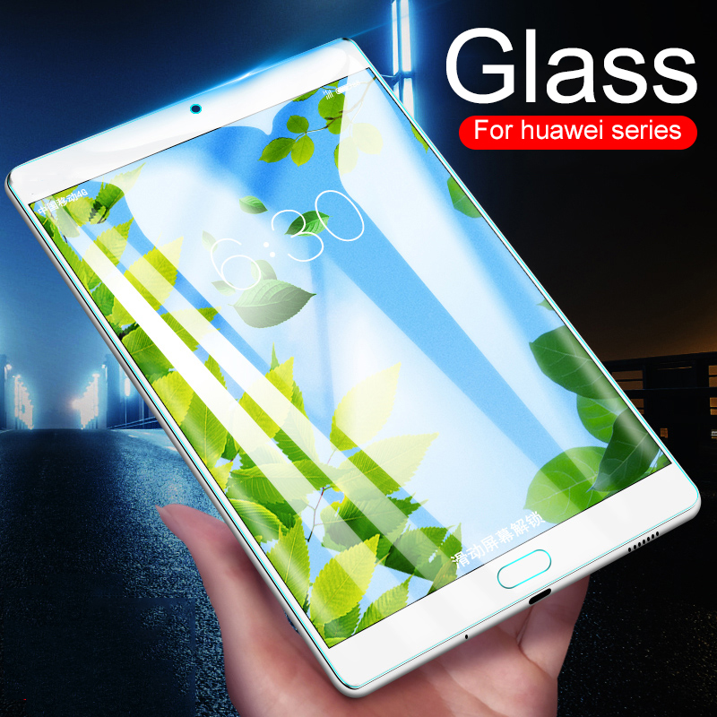 Tablet Screen Protector For Huawei MediaPad M5 Pro 10.8 '' 8.4 Lite 10.1 8 Tempered Glass Media Pad T3 7 8 10 Inch Wifi 4G Glass