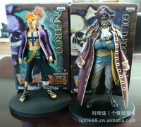 Hot 2pcs Set One Piece Marco Gol D Roger Anime Collectible Action Figures PVC Collection Toys