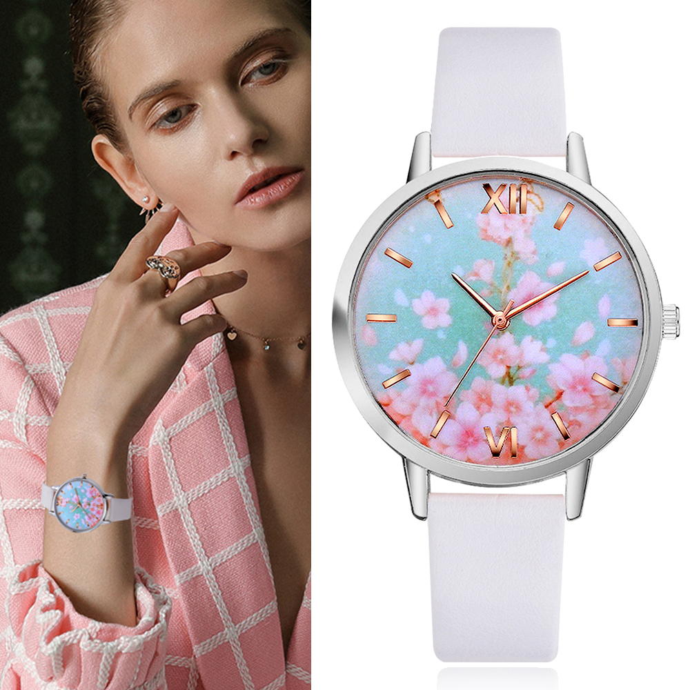 Lvpai Drop shipping Flower Pattern Watches Women Clock Gift High Quality PU Leather Small Band Ladies Watch Montre Femme GiftLvpai Drop shipping Flower Pattern Watches Women Clock Gift High Quality PU Leather Small Band Ladies Watch Montre Femme Gift