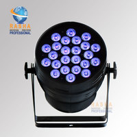 Rasha High Brightness Hex 24pcs*18W 6in1 RGBAW UV Alumnium LED Par Can Stage LED Par Light For Stage Event Party Stage Lighting