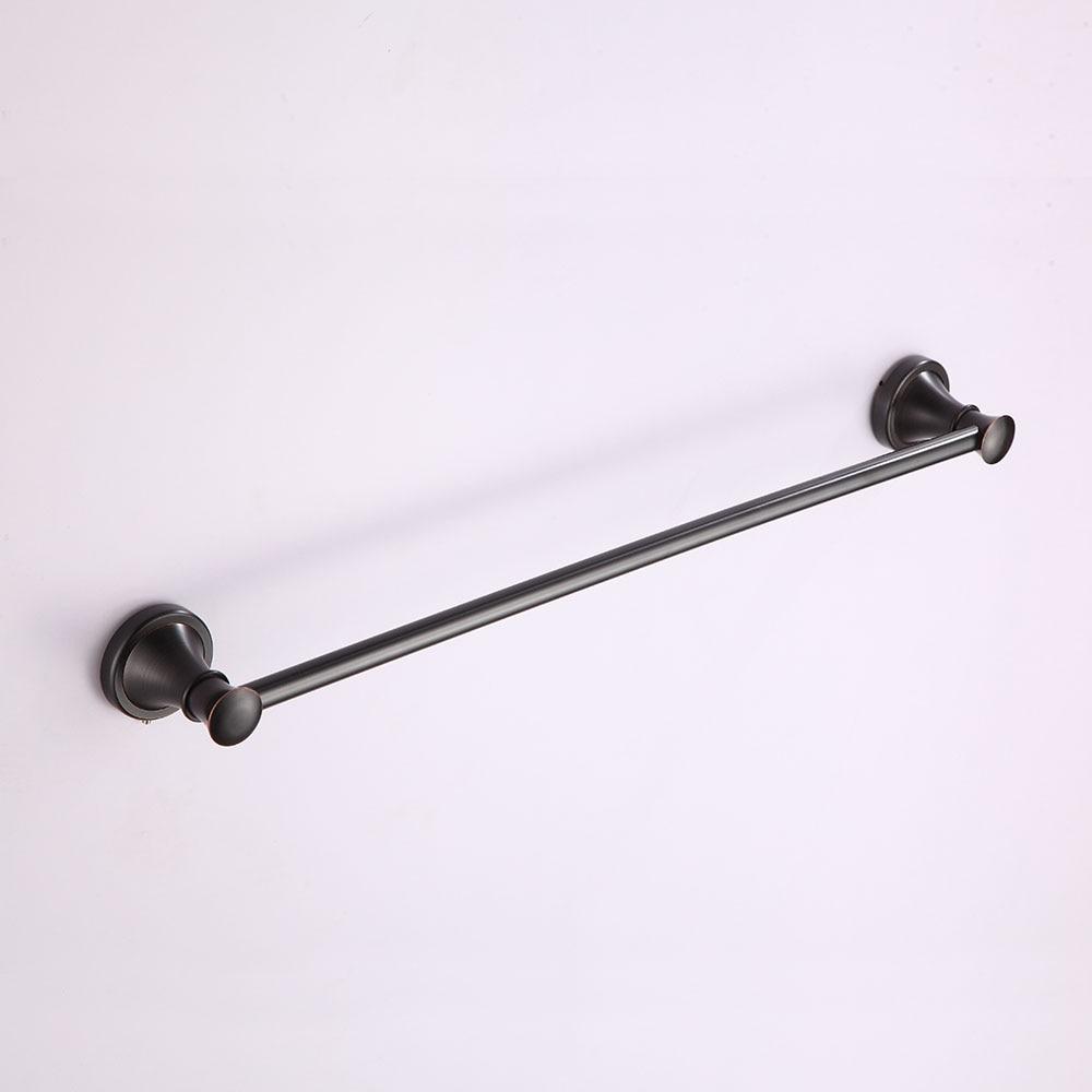 ᗜ LjഃShengweisi Towel Bars Solid Brass Single Rail Towel Holder ...