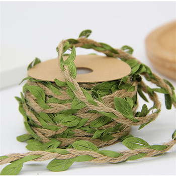 100cm/lot Artificial flowers vine Ivy Rattan Garland Green Leaf for home wedding decor bridal accessories diy fake floristics 1