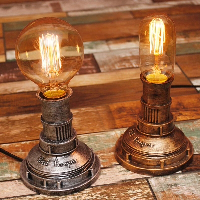 X Loft Edison Industrial Vintage Wind Individuality Hose Light Hose Nostalgia Vintage Gallery Showroom Cafe