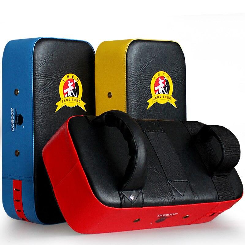 ZOOBOO Kick подушка для бокса мешок груша для ног Mitt MMA Sparring Муай Тай боксерское учебное оборудование штамповка 3 цвета