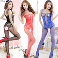 2017 Women Sexy lingerie hot Open Crotch Mesh Fishnet Bodystocking Lingerie body suit clothes sexy costumes erotic lingerie