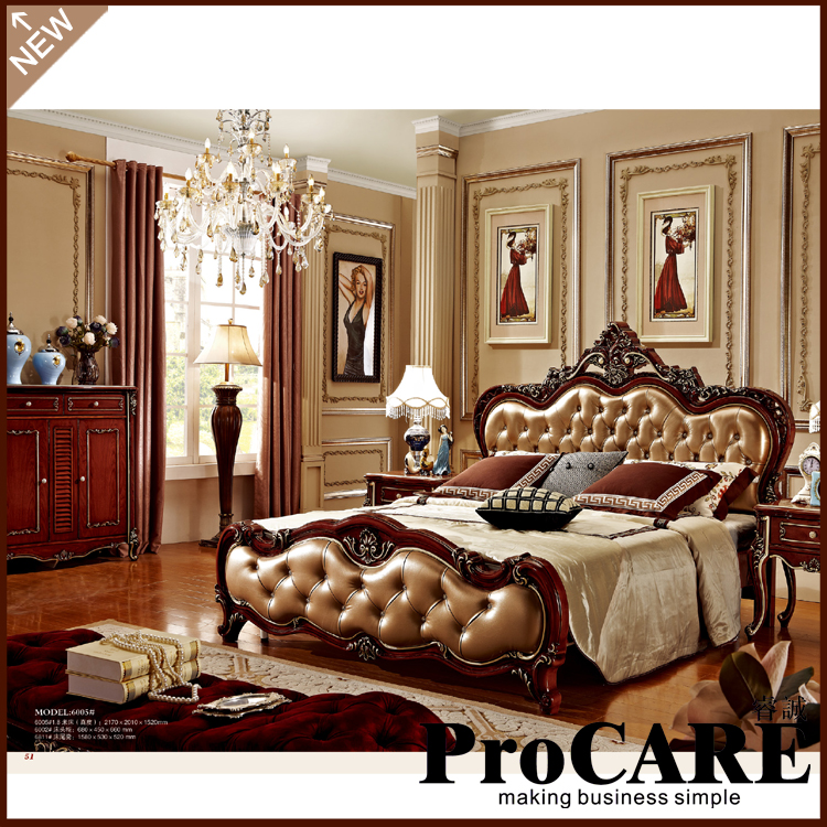 Royal Style Bedroom Set From Foshan-in Bedroom Sets From