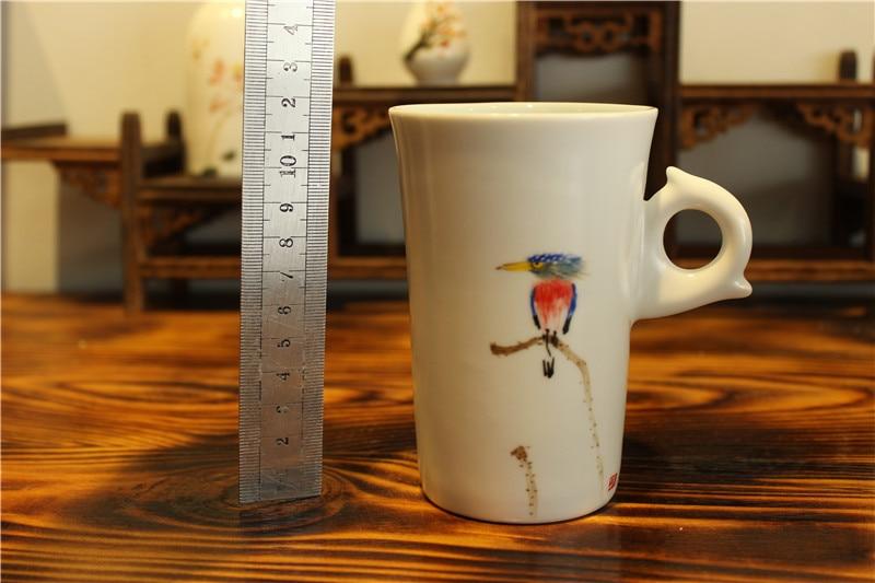 drinkware porcelāns balta keramika zakka tējas krūze krūze - Virtuve, ēdināšana un bārs - Foto 6