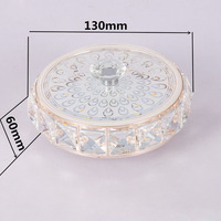 New Arrival 3 Modes SMD 5730 Ceiling Lamp Aisle Veranda Lighting Crystal Modern Surface Mounted LED