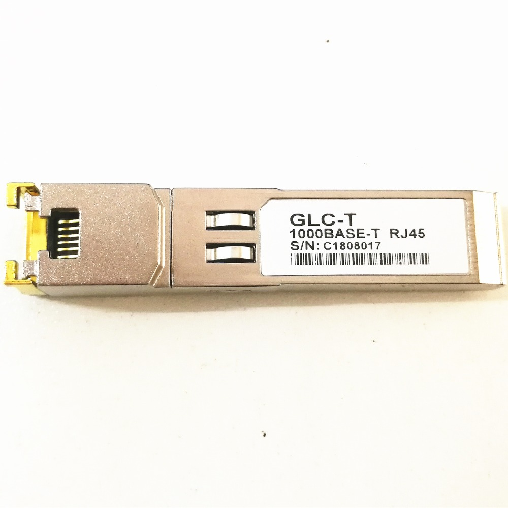 Compatible For Cisco Compatible GLC-T/ SFP-GE-T, Gigabit RJ45 Copper SFP, 1000Base-T Transceiver Module