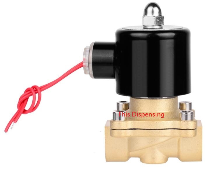 Electromagnetic valve main body copper 2 pass DN15 2W-160-15  G1/2  the supply of the original electromagnetic valve 4v410 15 ac220v