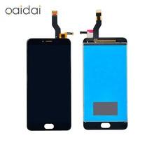 Для Meizu M3Note M3 Примечание L681H M681M M681H M681Q ЖК-дисплей Дисплей Сенсорный экран планшета мобильный телефон ЖК сборки Запчасти для авто