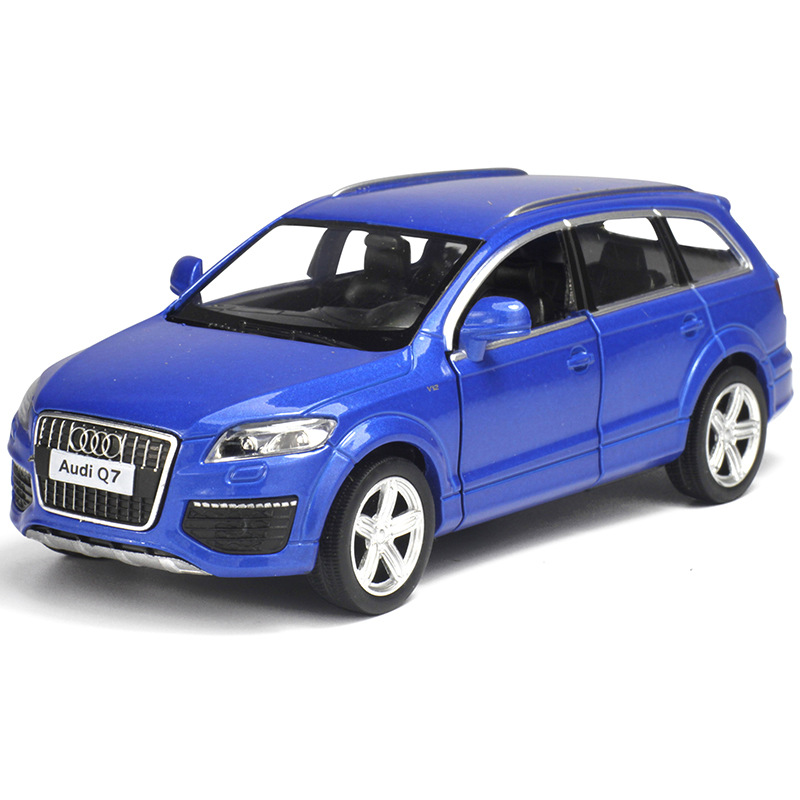 1:36 Diecasts Alloy Car Model for Audi Q7 Boy Toy Car SUV Wheels Cars Kids Toys for Children Machines Toys for Boys collections