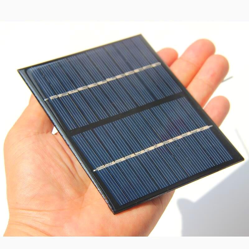 1.5W 12V Solar Cell Module Polycrystalline Solar Panel ...