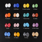 Mix color Half Oval ...