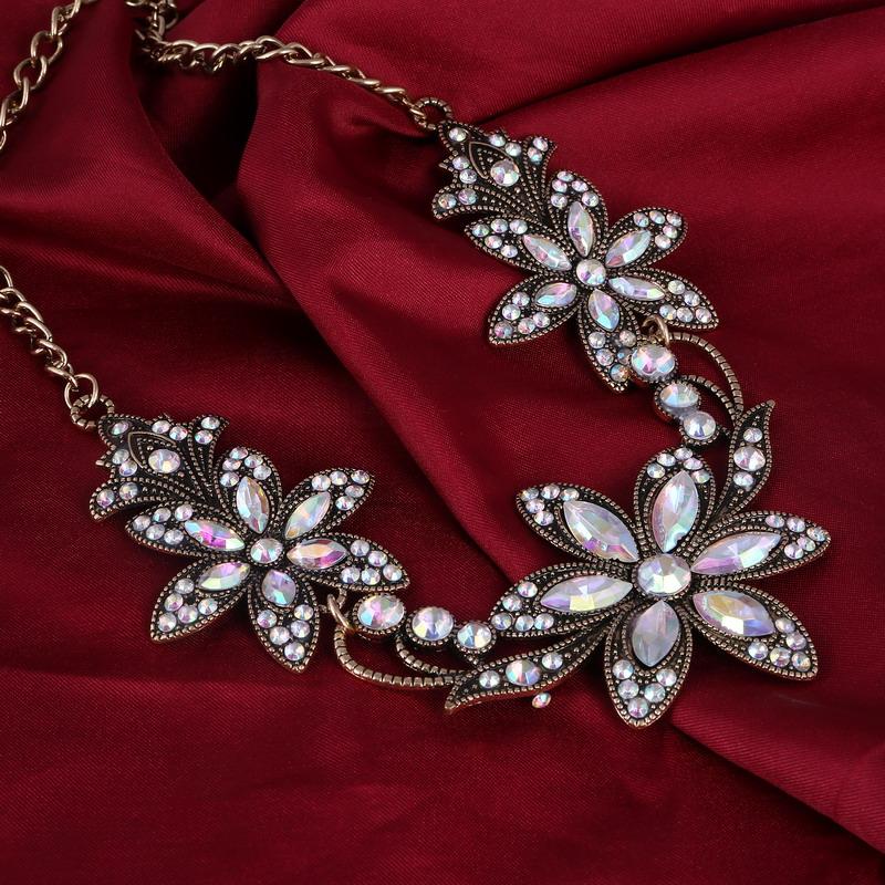 19 Fashion Designer Chain Choker Statement Necklace Women Necklace Bib Necklaces & Pendants Gold Silver Chain Vintage Jewelry 22