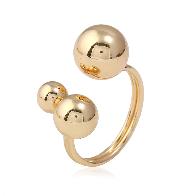 Reflectxion with several balls fashion ring made of stainless steel for both man and women Beauty and jewelry