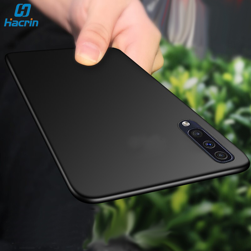 Hacrin Case For Samsung Galaxy A50 Soft Silicone Frosted Matte Funda Cover Hoesjes A30