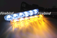 New Changeable Color Led Waterproof DRL Daytime Running Lights 12W Power Super White Fog Lights And