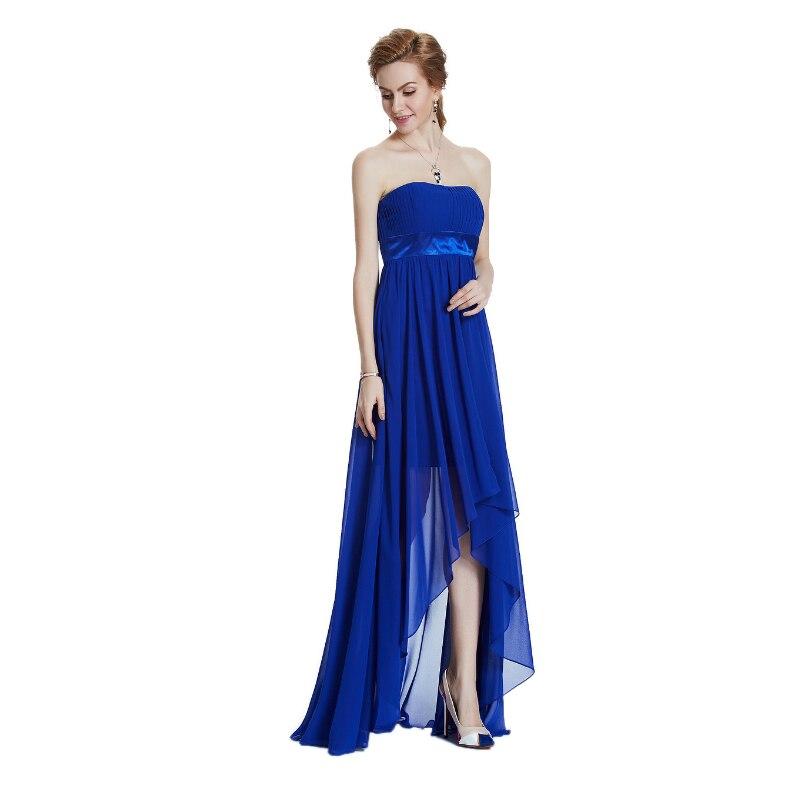 W.JOLI Long Evening Dresses 2017 Vestido De Festa Brude Bankett - Spesielle anledninger kjoler - Bilde 3