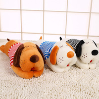 3 colors With Clothes Sleeping Pillow Plush Toy Doll Birthday Present Big Head Dog Creative Girlfriend Gifts