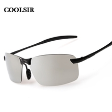 COOLSIR hot 2017 new fashion style UV400 colorful men driving 3 color p3043 Polarized Sunglasses