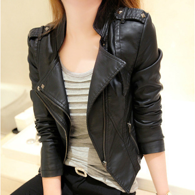 Online Buy Wholesale cute leather jackets for women from China ...