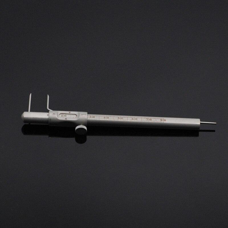Dental Clinic Vernier Caliper With Positioning Pen Type Planting Caliper Ruler For Dentist Lab