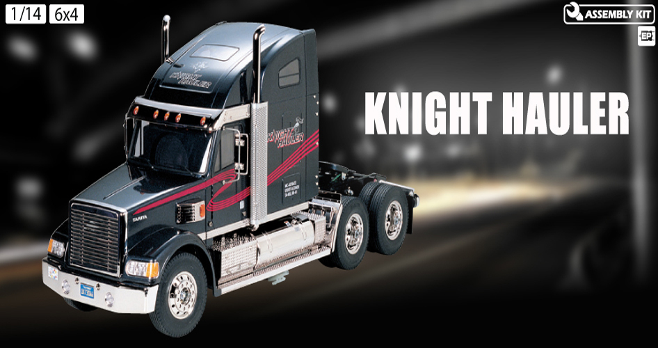 1/14 Tamiya Knight Hauler Tractor Truck tamiya cascadia evolution 1 14 tam 56340
