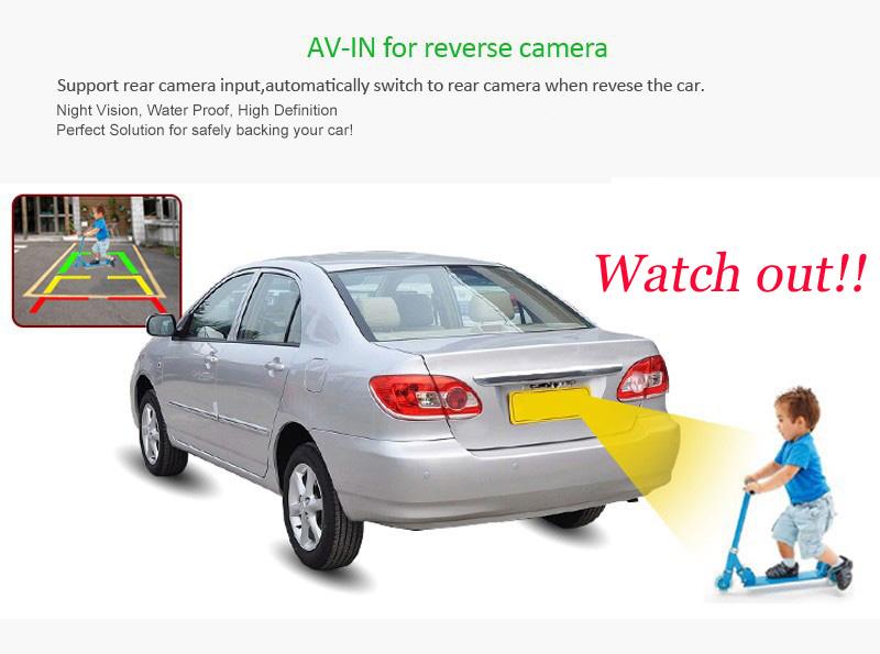 Discount 2Din Head Unit Android 5.1.1 GPS radio Car Stereo Auto Radio Audio 1080P Video Player Wifi FM Steering Wheel Control+rear Camera 8