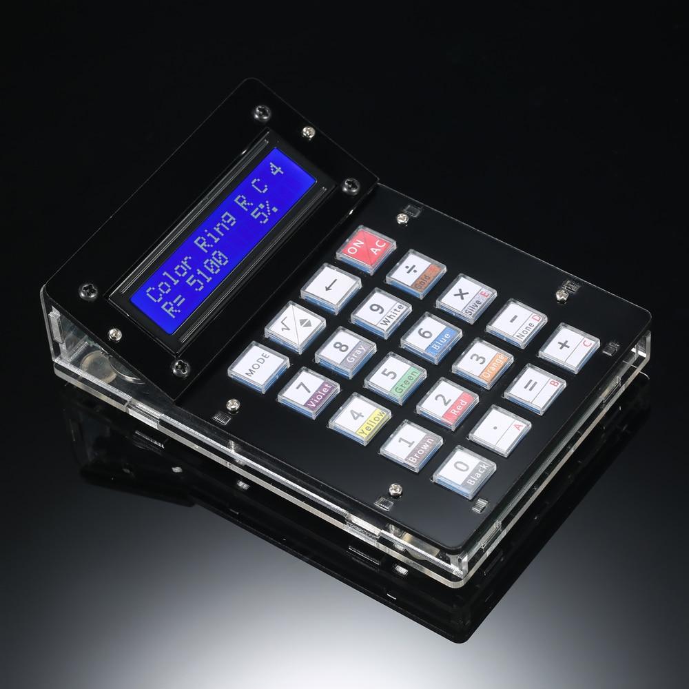 DIY Калькулятор Счетчик комплект калькулятор DIY Kit ЖК-дисплей Многоцелевой Электронные калькулятор Электроника вычислений с акриловый чехол