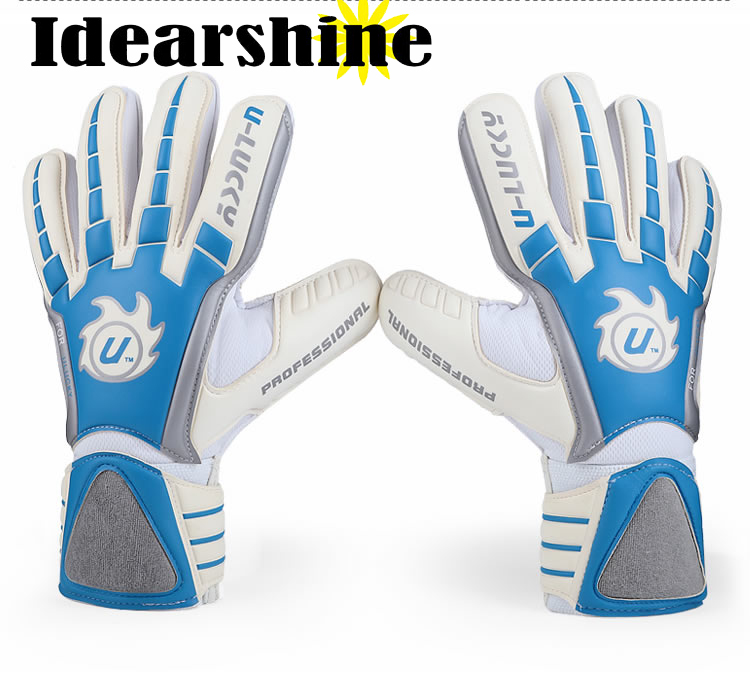 Full Latex once again 100% latex Mesh Goalkeeper Gloves Professional Football Goal Keeper 3mm thicken #777 accutouch latex exam gloves p f polylined x small 10 boxes of 100 case