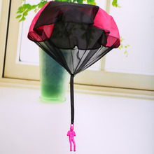 Throwing Parachute Toy