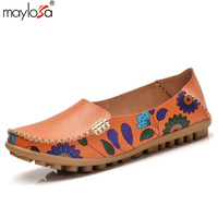 2017 Hot Sale Women Flats Summer Ladies Shoes Fashion Solid Soft Loafers Summer Women Casual Flat