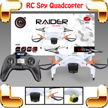 New Coming Gift Raider 2.4G 4CH RC Remote Control Quadcopter 6 Axis Gyro Stunt Aircraft Electric Helicopter Radio Toy Camera