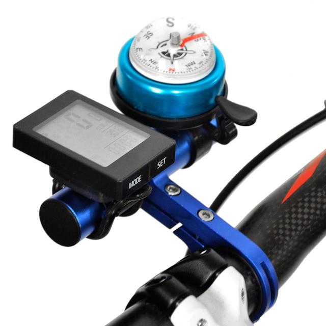 Aluminum Alloy Bike Handlebar Extension Bicycle Mount Extender Holder for Light Lamp Bike Stopwatch Bracket 31.8/25.4mm