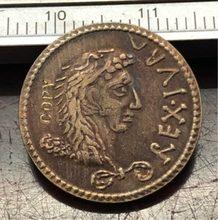 16-18 anos Mauretania Denário-Juba II Hercules vestindo anverso, Capricórnio reversa Copiar Coin