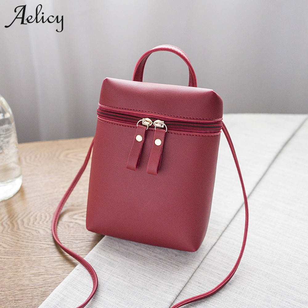 Aelicy Luxury Women Shoulder Bags Fashion Famous Brand Female Handbag PU Leather Messenger Bag Women Small new design Women Bag