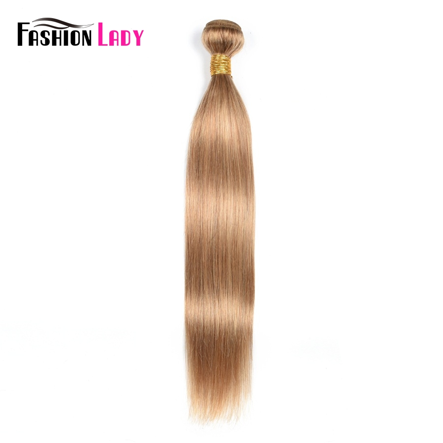 Fashion Lady Pre-Colored Brazilian Hair Weave Bundles 8 Color For Choosing Human Hair Weave Straight Hair Bundles Non-remy
