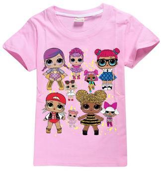 7c29991d7bdb Quick View. Topit   T-Paidat. Hot Sale New 2019 Cartoon LOL T Shirts 100%  Cotton Tees Short Sleeve Boys Girls ...