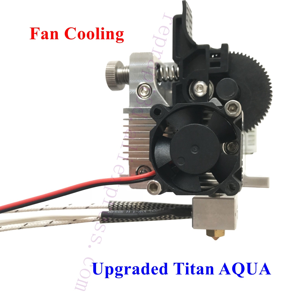 Upgraded High Temperature TITAN Aero Extruder For Anet A8, Creality Cr-10 Ender3 Prusa I3 3D Printer PEI TPU Flexible Filament