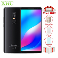 Blackview MAX 1 Projector Mobile Phone 4680mAh Big Battery Android 8.1 6.01inch 6GB 64GB MT6763T Octa Core Dual SIM Smartphone