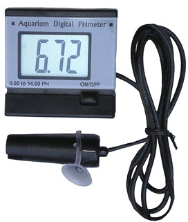 Aquarium Mini pH Meter Monitor Acidometer With Rechargeable battery AC110~240V power adapter  fish tank swimming pool SPA