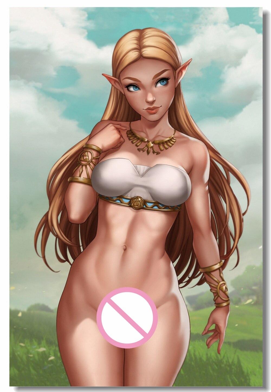 zelda naked Princess