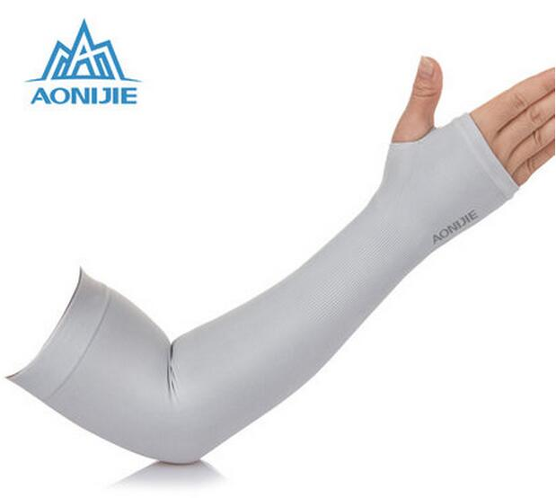 AONIJIE Outdoor Games Sports Hiking Cycling Arm Sleeves Sun UV Protection Bike Bicycle i ...