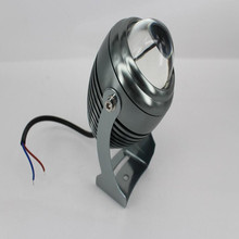 10W LED a beam of light shoot the light concentrated remote lamp IP65 outdoor shoots the narrow light building wall outdoor