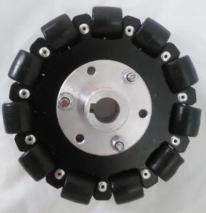 Image 4 - 127mm Plataforma Chassis Robô Roda Direcional Omni